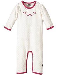 Pippi - 3525 Jumpsuit Ls W. Spots & Eyes - Combinaison Bébé Fille