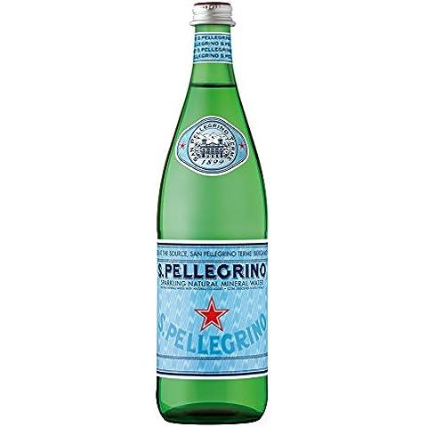 Sanpellegrino (San Pellegrino) 750mlX12 Esta agua mineral natural carb?nica