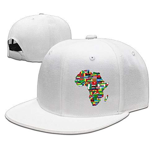 Paint0 Africa Flags Unisex Snapback Adjustable Baseball Cap -