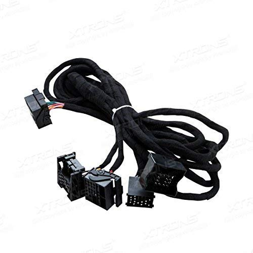 XTRONS 6 Meter extra Lange ISO-Kabelbaum geeignet für BMW Head-Unit mit Quadlock-Anschluss ISO Wiring Harness for BMW Suitable for Head Unit with Quadlock Connection - Head Unit Radio