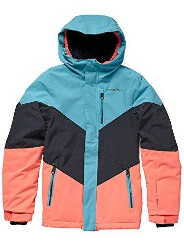 O'Neill Mädchen Kinder Snowboard Jacke Coral Jacket Girls, Island Blue, 152 (Für Snowboard-jacke Kids)