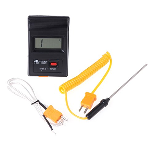 JENOR TM-902C K Digitales LCD-Thermometer, -50°C bis 1300°C mit Thermoelement-Sensor