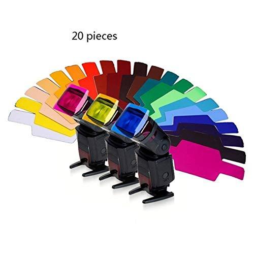 Noradtjcca 20 STÜCKE Farbfilter für Kamera Top