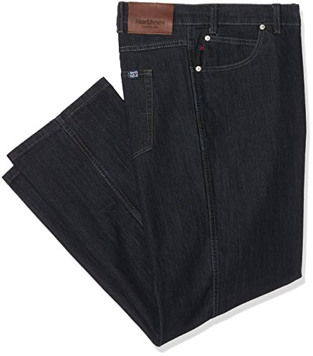 North 56-4 Herren Loose Fit Jeans 99830, Blau (Blue Stone Washed 0598), W50/L34