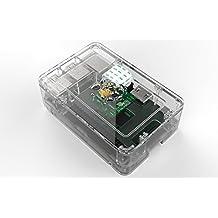 Raspberry Pi - Caja para Raspberry Pi B+ y Pi2, transparente