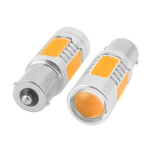 Preisvergleich Produktbild SODIAL(R) 2 BAY9S 5 COB LED Auto KFZ Lampe Licht Blinker Standlicht Ecke,  Gelb