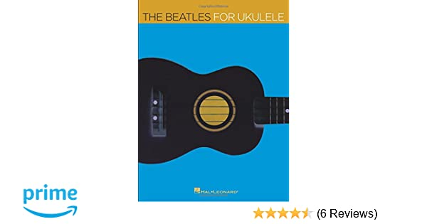 The Beatles For Ukulele Amazon Barrett Tagliarino Beatles