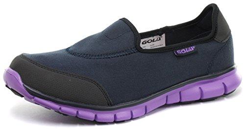 Gola Mystic Donna Slip On Fitness Sneaker, Blu marina, Taglia 40