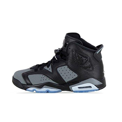 Nike Black / White-cool Grey, espadrilles de basket-ball garçon