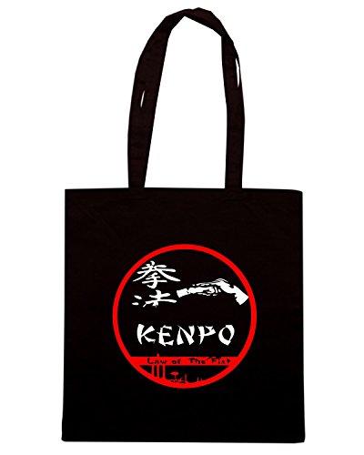 T-Shirtshock - Borsa Shopping TAM0083 kempo Nero