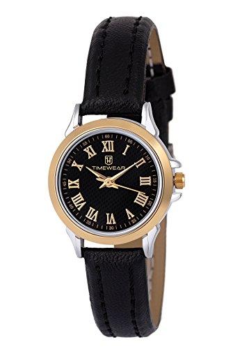 TIMEWEAR Analog Two Tone Black Dial Premium Watch for Women