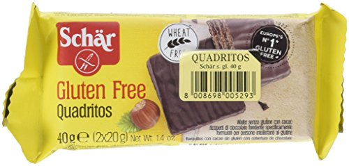 Barquillos de chocolate DR SCHÄR (40 gr)