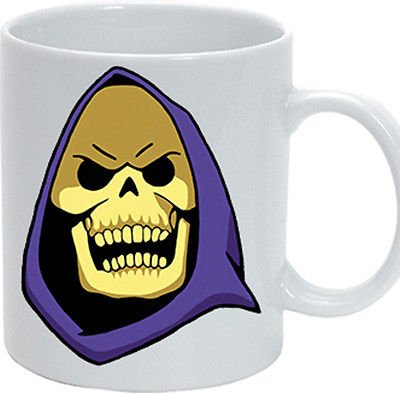Tazza Skeletor He man cartoons 80 Masters of the Universe mug gadget oggettistica