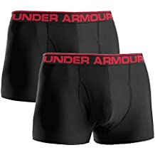 Under Armour Heatgear Fitted Original 3Inch Boxer tipo bóxer (2unidades) Negro negro