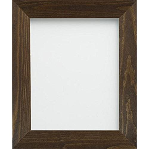 frame company boston range 1 piece 12 x 10 inch wooden picture photo frames brown - Wooden Frames