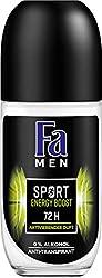 Fa Men Sport Energy Boost Roll-on Deo, 6er Pack (6 x 50 ml)