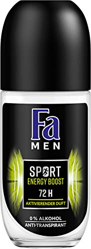 Fa Men Sport Energy Boost Roll-on Deo, 6er Pack (6 x 50 ml)