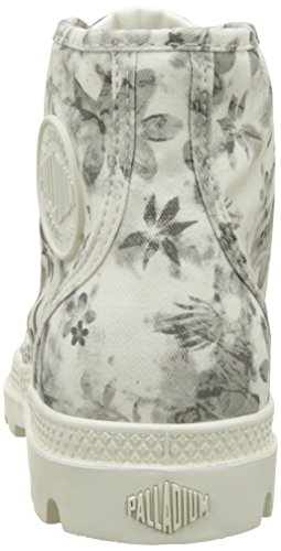 Palladium Marshmallow 92352 Floral Ginnastica Scarpe Donna Print da Alte Rosa a6qvFw