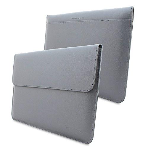 MacBook Air 11Schutzhülle, Snugg & # 8482;–Leder Sleeve mit Lebenslange Garantie (grau) für Apple MacBook Air 11 (Apple Macbook Air 11 Sleeve)