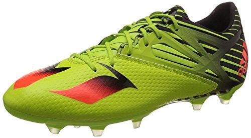 separation shoes 60384 97df9 adidas Herren Messi 15.2 Fußballschuhe, Grün Rot Schwarz (Seliso Rojsol
