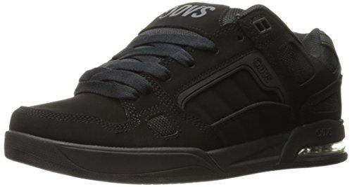 DVS Schuhe Drone Schwarz/Charcoal/Grau Nubuck/Deegan Black Leather Nubuck Anderson