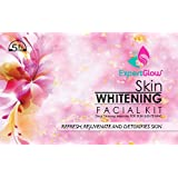 ExpertGlow Skin Whitening Facial Kit 210gm | 5 in 1 (5 Step Complete Facial Kit for women & men) Brightens Skin And…