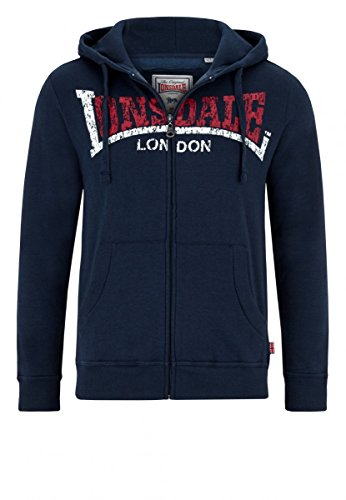 Lonsdale Zip Hoody Knowstone, Farbe:marl navy;Größe:M