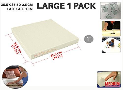 Ace Punch Soft Alta Densidad Gomaespuma de Tapicería Upholstery Cushion 35 x 35 x 2 cm AP1137