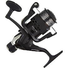 Shakespeare Beta noir - Carrete de pesca de lanzado, color negro, talla 40RD