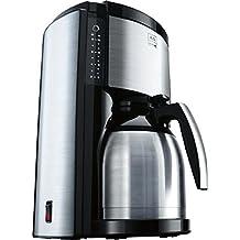 Melitta 4006508205189 M662 bk SST Look Therm de Luxe - Cafetera automática de acero inoxidable
