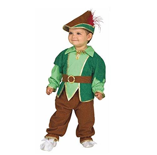 Kostüm Peter Pan, Robin Hood (80/86) (Baby Peter Pan Kostüm)