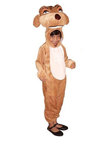 , Su02 Gr. 110-116, für Kinder, Erdmännchen-Kostüme für Fasching Karneval Fastnacht Fasnet Klein-Kinder Karnevalskostüme, Kinder-Faschingskostüme, Geburtstags-Geschenk (Erdmännchen Kostüme Für Erwachsene)