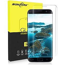 Verre Trempé pour Samsung Galaxy S7 Edge, [1-Pack] Film de Protection d'Écran en Verre Trempé Transparent, 9H Dureté et 3D Touch Compatible, Installation Facile sans Bulles