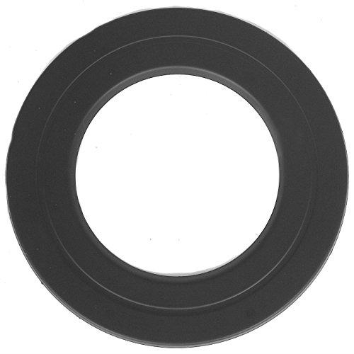 Wandrosette 5 cm Breite in Schwarz für Ø 150 mm Rosette Abdeckung Abdeckrosette (Schwarzen Schornstein Abdeckung)