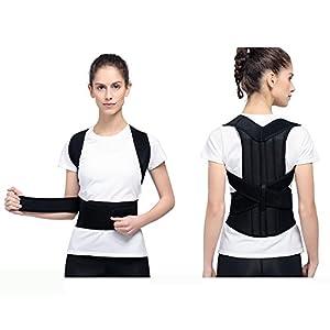 GZP Back Support Belt Posture Hosenträger, Rückenstütze Zur Verbesserung Der Haltung Und Bieten Unteren Rücken Und Taille Schmerzen Für Männer Und Frauen Sitzen Korrektur