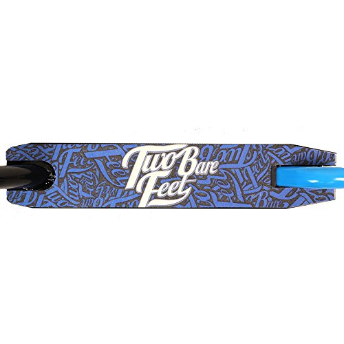 TBF Stunt Scooter XV Pro Street Tricks Kick/Push 360 Spin Model (Boarding Co (Black / Blue))