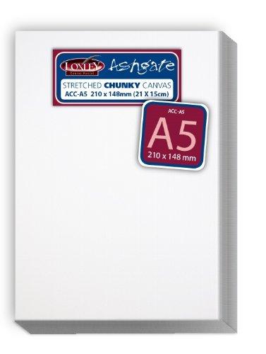 Loxley Acc-A5 - Lienzo preestirado, Color Blanco
