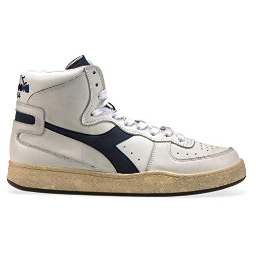 Diadora Heritage - Sneakers MI Basket Used für Mann und Frau DE 40.5 Heritage Basket