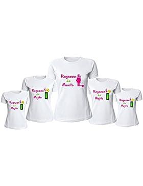 Pacchetto 7+1 T-Shirt Bianche