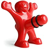 Happy Man Bottle Stopper-Flaschenverschluss - 3