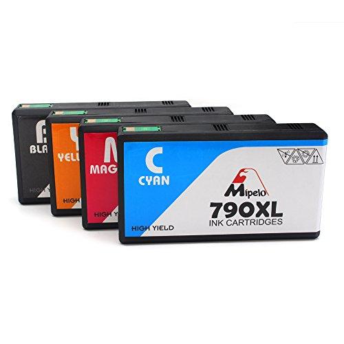 Preisvergleich Produktbild Mipelo Kompatibler Ersatz für 79 79XL Hohe Kapazität Druckerpatrone - 4 Pack Gilt für Epson Workforce Pro WF-5620DWF WF-4630DWF WF-4640DTWF WF-5110DW WF-5690DWF WF-5190DW Drucker