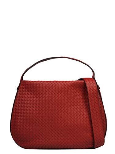 Bottega Veneta Handtasche (Bottega Veneta Luxury Fashion Damen 547225V00166423 Rot Schultertasche   Frühling Sommer 19)