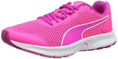Puma Descendant V4 Wn's, Chaussures de Running Compétition Femme Rose (Knockout Pink-ultra Magenta-puma White 06)