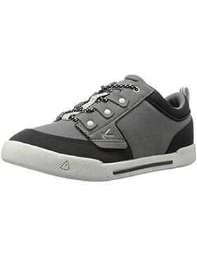 Keen Sneaker Kinder-Schuhe Encanto Wesley Halbschuh in grau