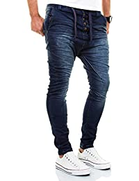 Urban Surface by Authentic Style Jogg Jeans Destroyed Look Drop Crotch Sweathose W29-W38 L32-L34