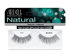 Ardell Natural Style Eye Lashes Number 117, Demi Black