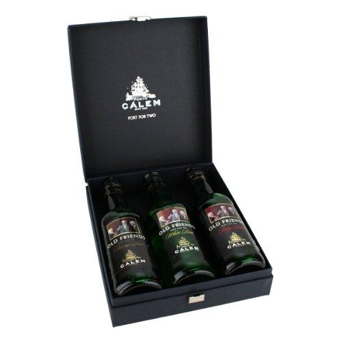 Cálem Port for Two mit 3 Portwein-Miniaturen á 200 ml im Geschenkkarton 3x0.20l