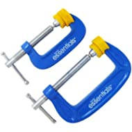 Great Neck 21012 Essentials 2 Piece C-Clamp Set by Great Neck