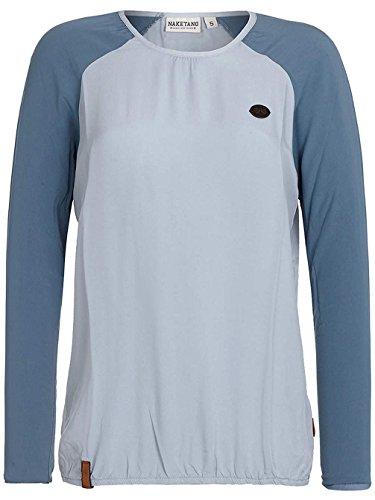 Naketano - Veste Sweat - Uni - Manches Longues Femme Cloudy blue