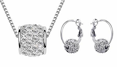 korpikusr-crystal-rhinestone-jewel-shiny-silver-ball-necklace-free-matching-earrings-set-in-organza-
